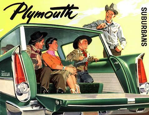 1957 Plymouth Suburbans