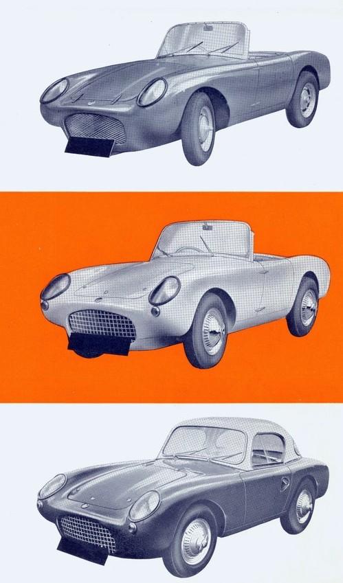 1958 Berkeley 350 roadster