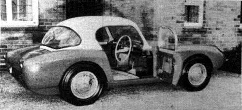 1958 Berkeley 500 coupe