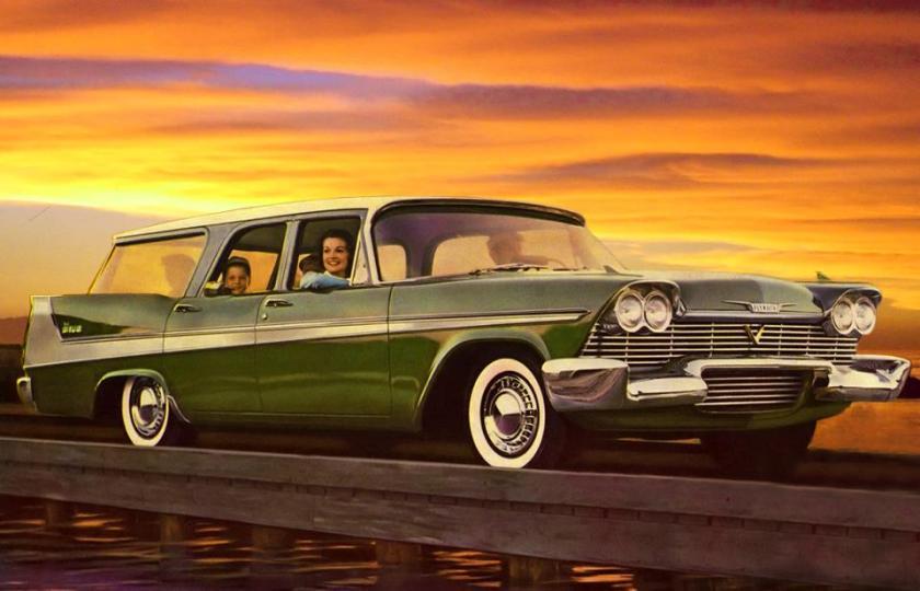 1958 Plymouth Suburban