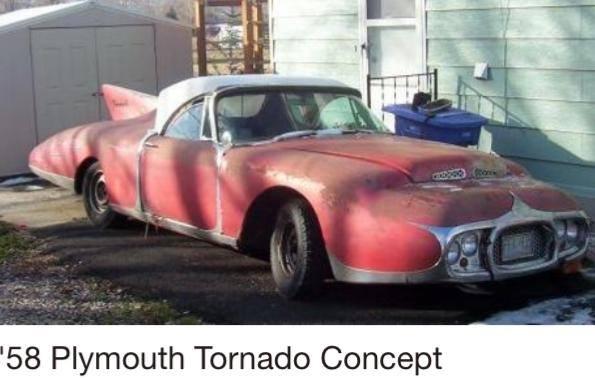 1958 Plymouth Tornado Concept