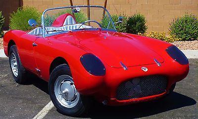 1959 Berkeley Se328 Roadster Racer England Factory Vintage Speedster Classic Car a