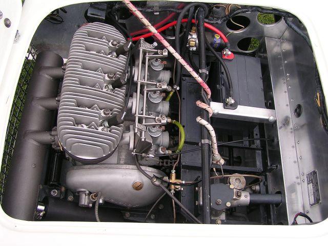 1959 Berkeley SE492 Engine