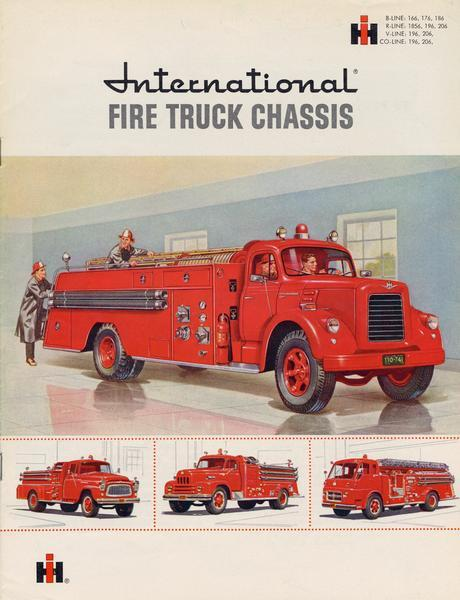 1959 International Fire Truck Brochure