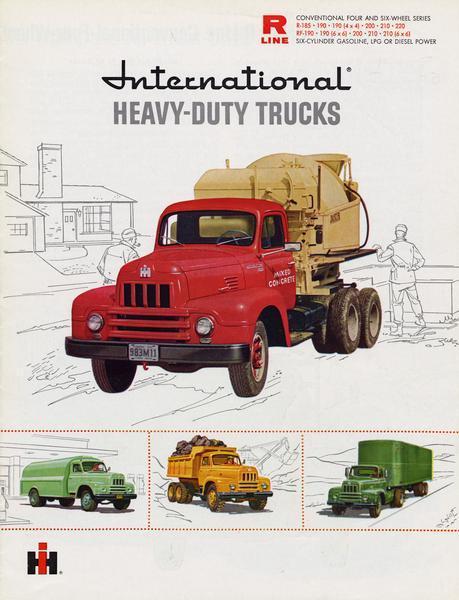 1959 International Heavy-Duty Trucks