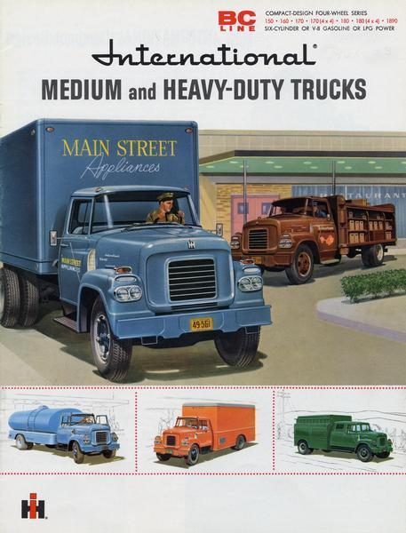 1959 International Medium and Heavy-Duty Trucks