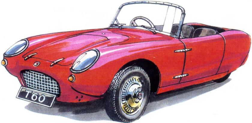 1960 Berkeley T60 drawing