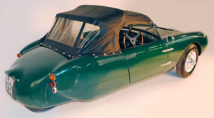 1960 Berkely T-60 three-wheeled convertible a