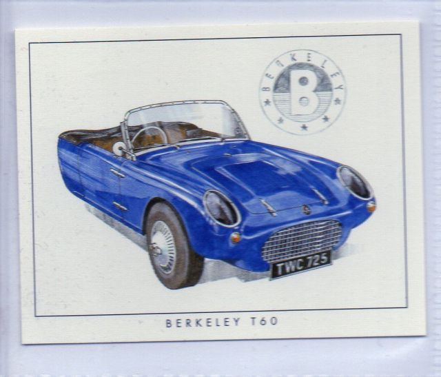 1960 Berkely T60 stamp