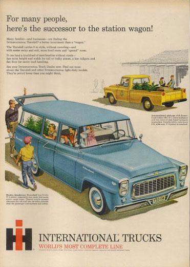 1960 International Harvester Travelall & pickup 60