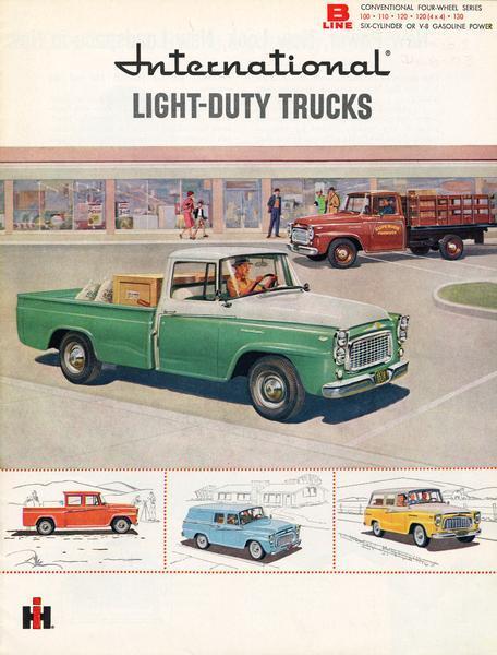 1960 International Light-Duty Trucks