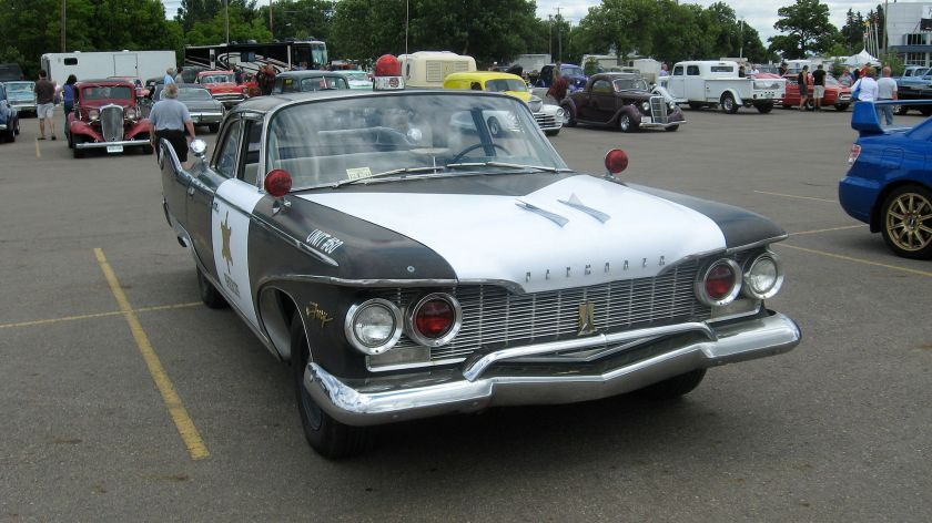 1960 Plymouth Fury police car