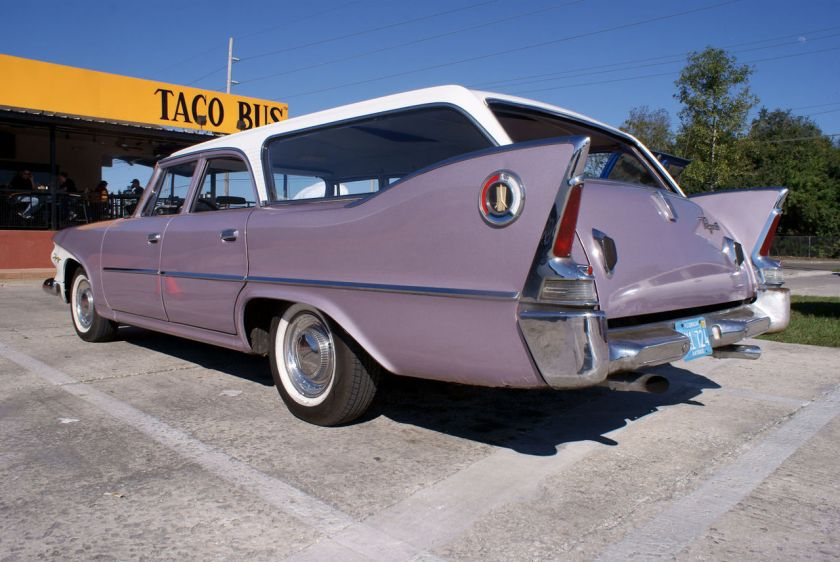 1960 Plymouth Fury Station Wagon LSideRear