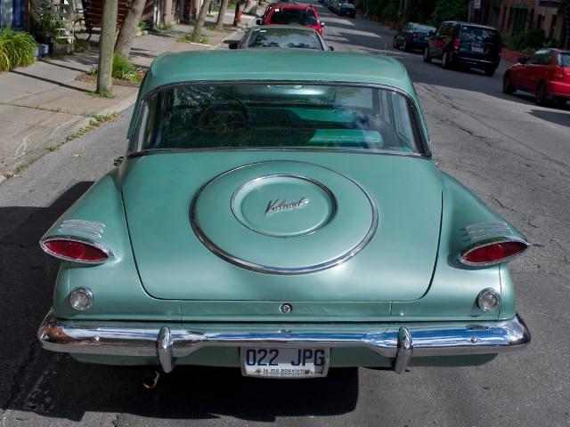 1960 Plymouth Valiant back