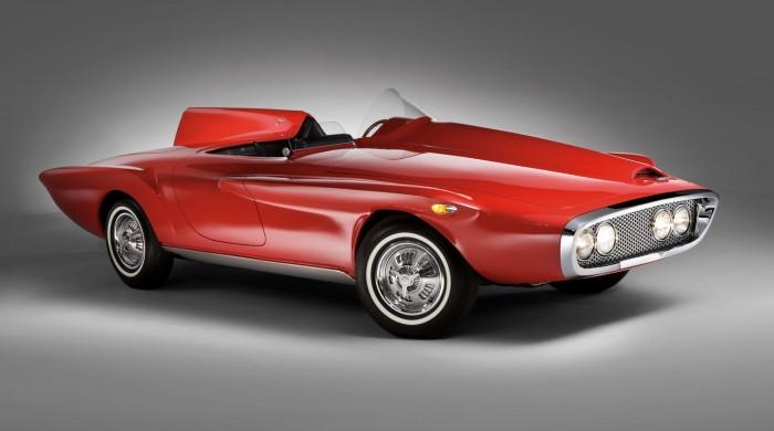 1960 Plymouth XNR Virgil Exner Sr.'s