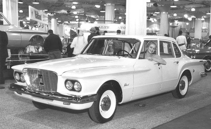 1960 Vailiant On Display At The Chicago Auto Show