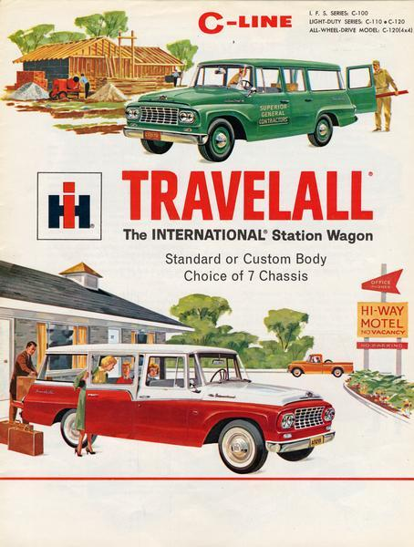1961 International C-line Travelall Station Wagon
