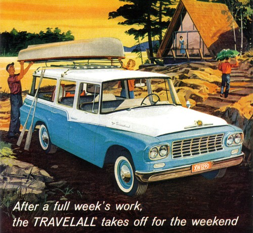 1961 International Harvester Travelall