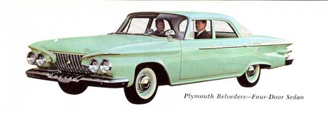 1961 plymouth belvedere