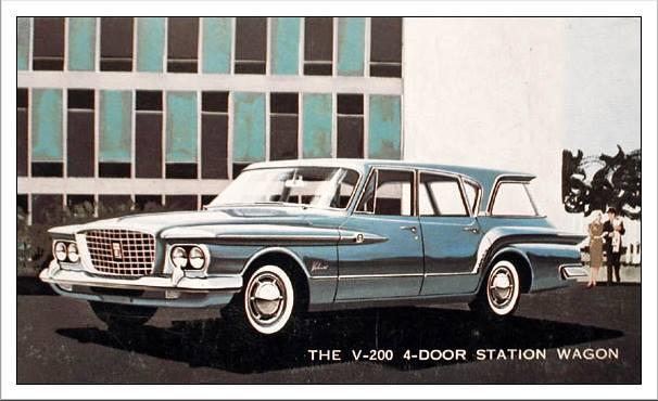 1961 Plymouth Valiant V-200 Station Wagon