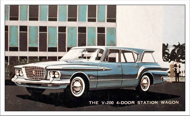 1961 Plymouth Valiant V-200 Station Wagon