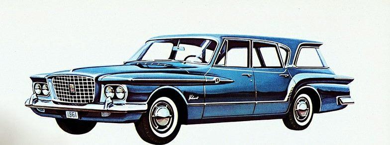1961 Plymouth Valiant V-200 Suburban