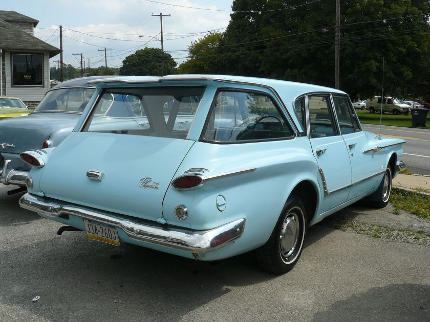 1961 Plymouth Valiant Wagon