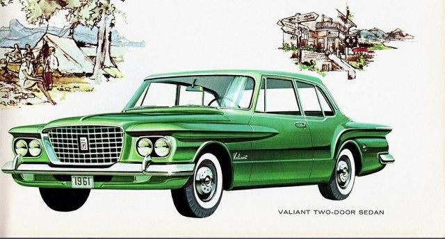 1961 Valiant V-100 Two Door