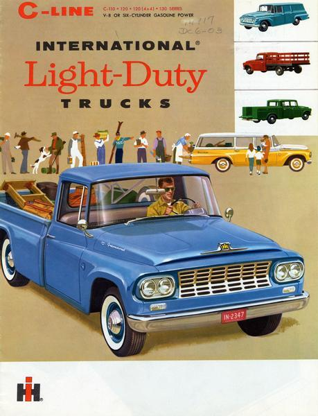 1961+1962 International Light-Duty C-Line Trucks