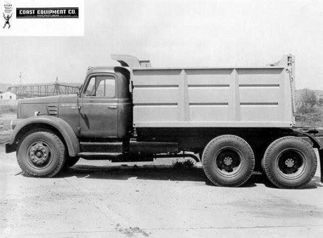 1962 International dump truck