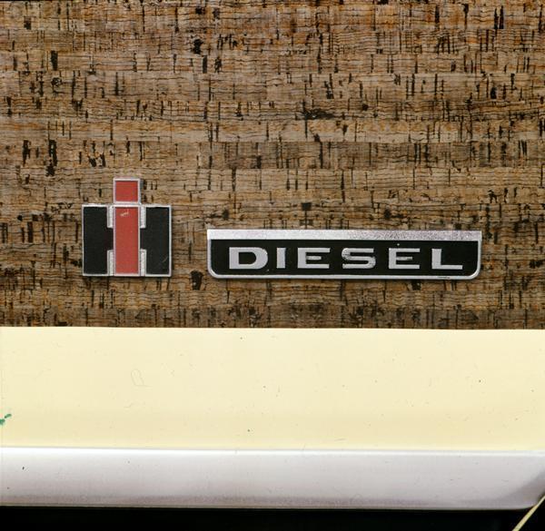 1962 International Scout Diesel Nameplate