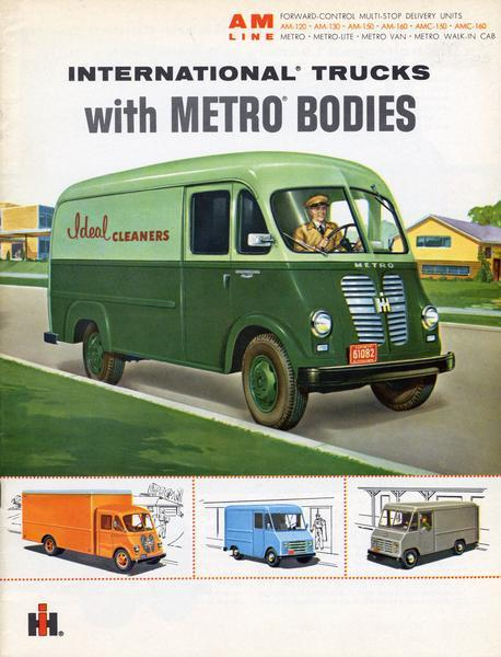 1962 International Trucks with Metro Bodies
