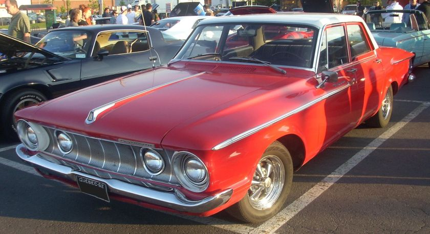 1962 Plymouth Belvedere Sedan (Orange Julep)