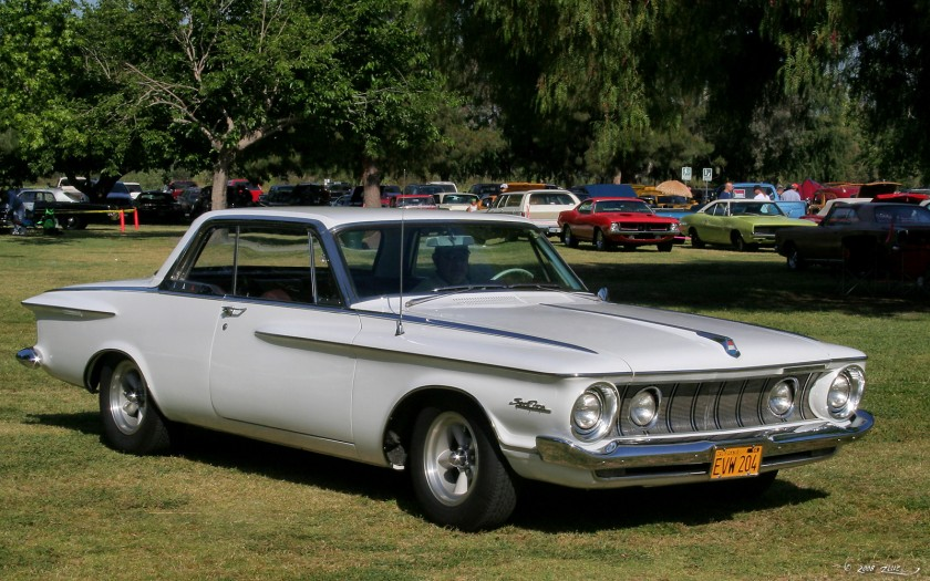 1962 Plymouth Sport Fury - white - fvr