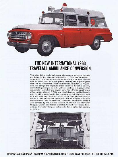 1963 IH Travelakk Ambulance Conversion