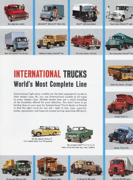 1963 International Trucks Brochure