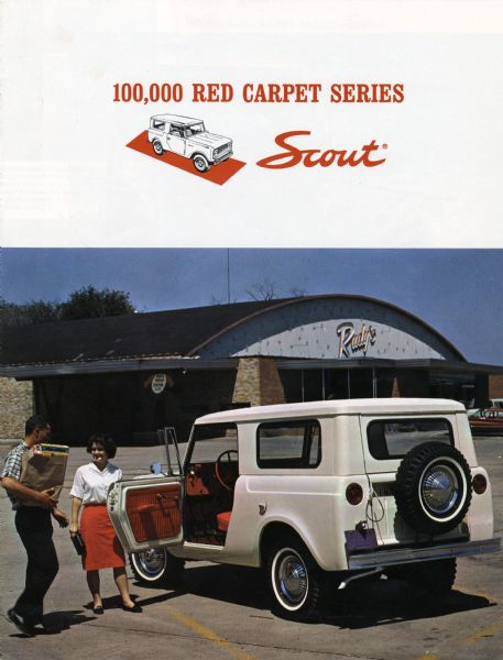 1964 100,000 Red Carpet Series Scout Advertisement