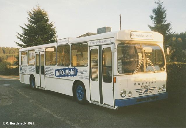 1964 Büssing-BS110V-Linienbus-ZWS-Info-Mobil-weiss