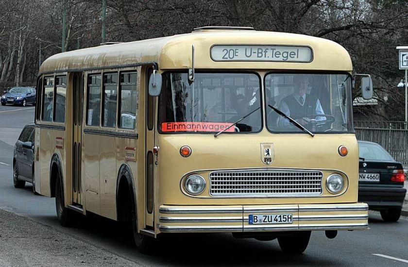 1964 Büssing E2U 64