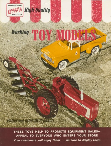 1964 International Harvester catalog of working toy models