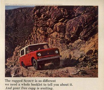 1964 International Harvester Scout 64