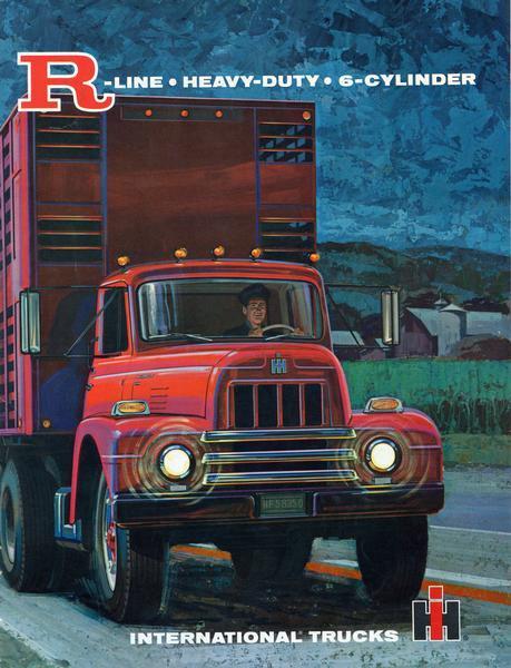 1964 International R-Line Heavy-Duty Trucks