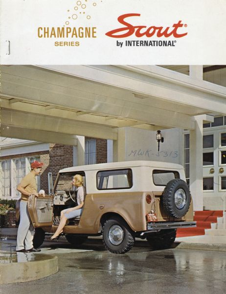1964 International Scout Champagne Series Scout Advertisement