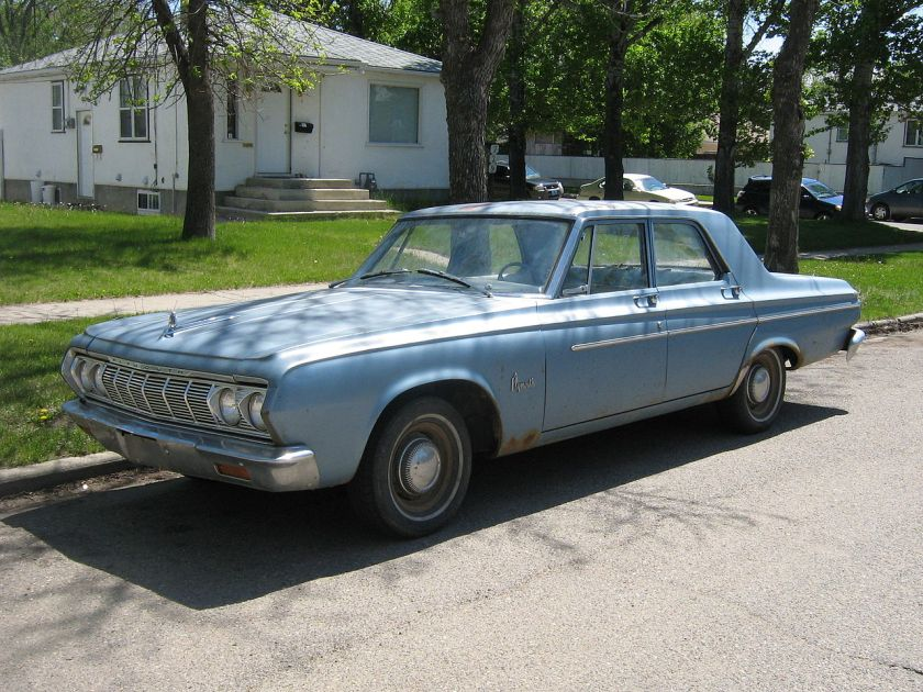 1964 Plymouth Savoy four-door sedan