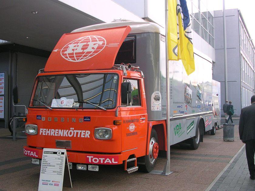 1965 Büssing LT 11 (Staubsauger), 93 kW (125 PS), vmax 75 km-h
