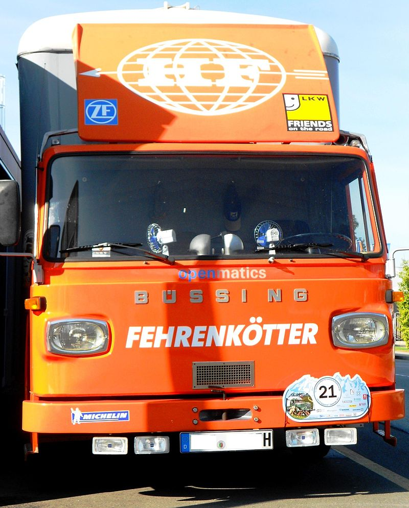 1965 Büssing truck 11 LT 135hp 75 km-u 6.4 metric tons