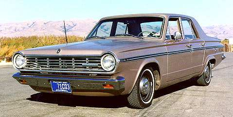 1965 Canadian Valiant Custom 200 sedan