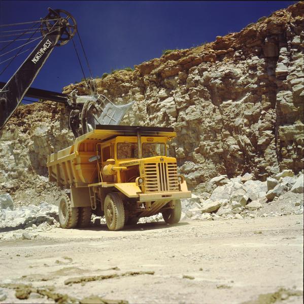 1965 International 65 Payhauler in Quarry