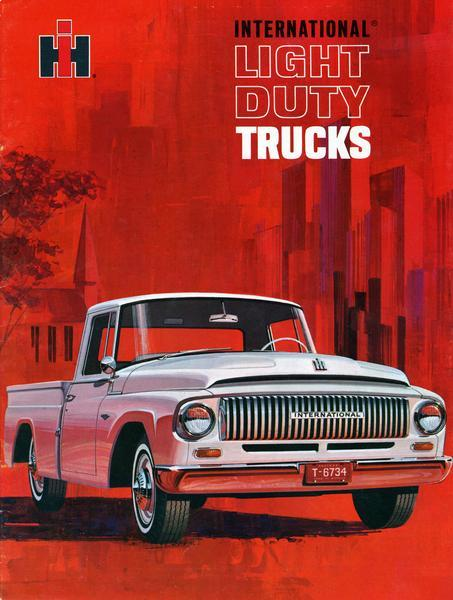 1965 International Light-Duty Trucks Advertising Brochure