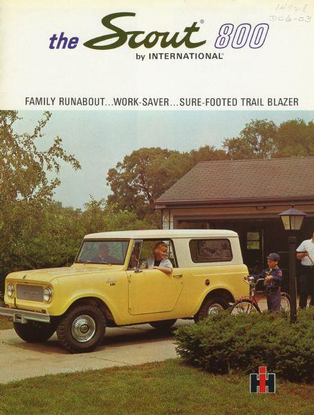 1965 International Scout 800 Brochure
